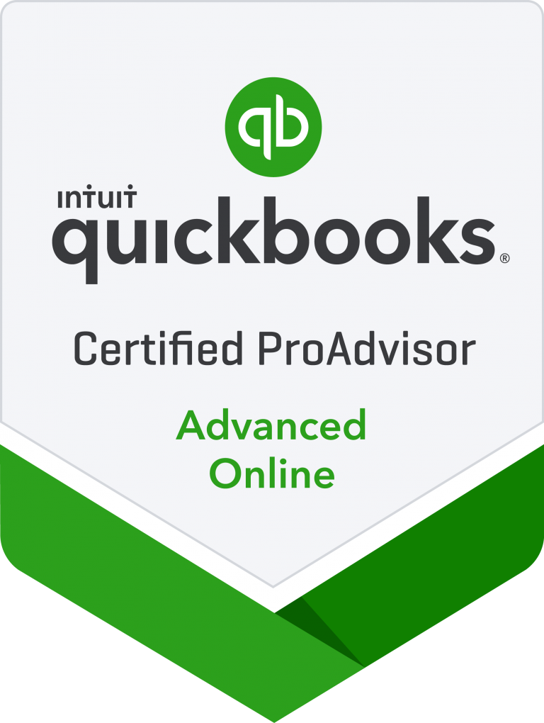 Quick Books Advanced Certified