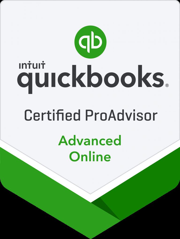 Quick Books Advanced Certified